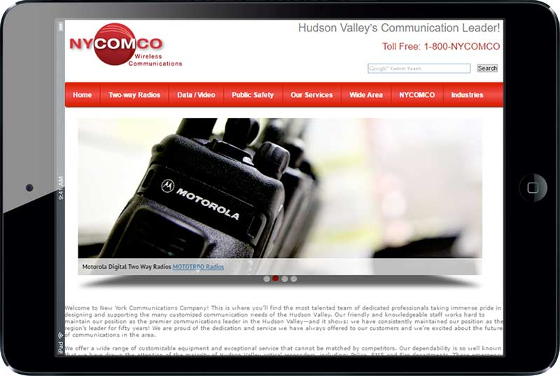 >NYCOMCO Two-way Radio Communication Leader!